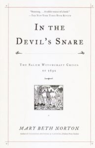 Cover of In the Devil's Snare: The Salem Witchcraft Crisis of 1692 (2003). Source: Amazon